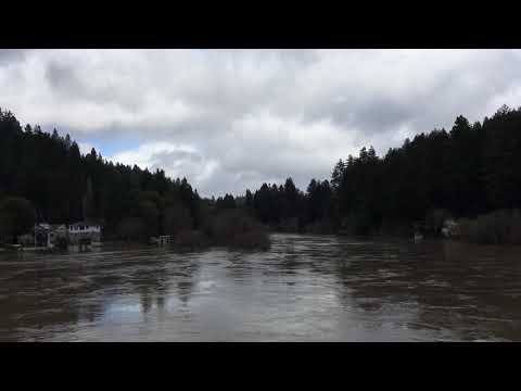 Russian River in Monte Rio Thursday afternoon