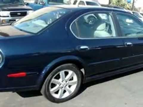 One Owner 2002 Nissan Maxima Gle Leather Moonroof Youtube
