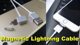 Magnetic Lightning Cable for Your iPhone or iPad (4K)
