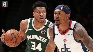 Milwaukee Bucks vs Washington Wizards - Game Highlights   February 24, 2020   2019-20 NBA Season
