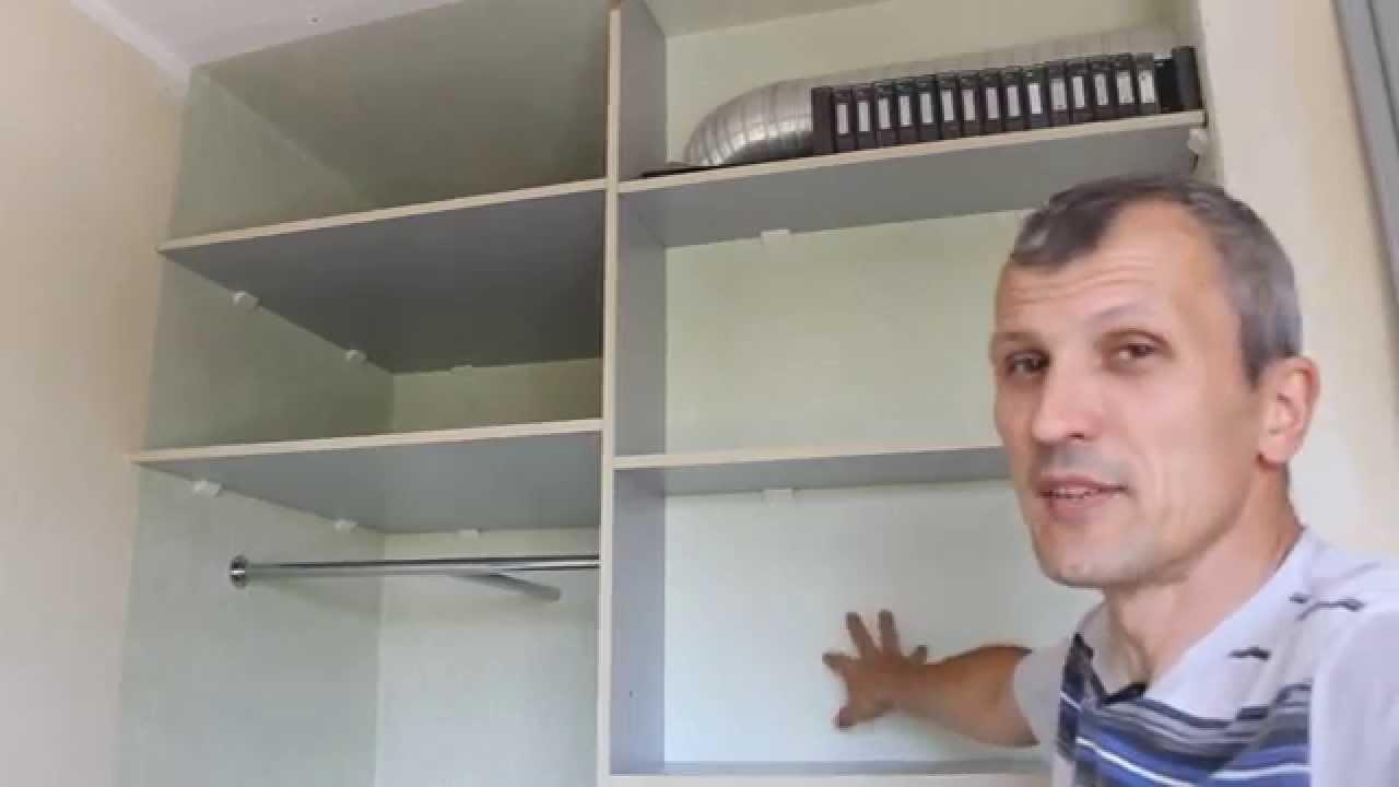 Сдвижные шкафы своими руками
