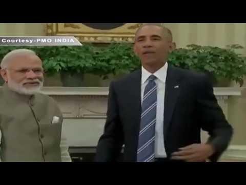 Joint press statement of PM Shri Narendra Modi and US President Obama