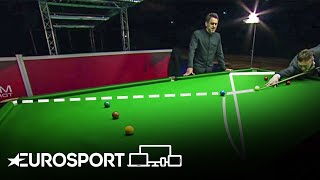 Ronnie O'Sullivan and Jimmy White Attempt LEGENDARY Alex Higgins Shot | Snooker | Eurosport