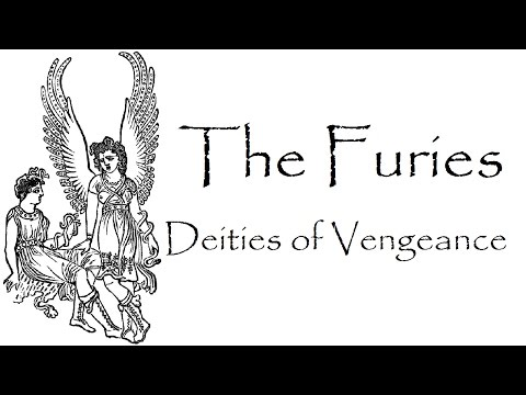 Greek Mythology: Story of Furies