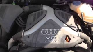 2003 Audi Allroad 2.7T Engine Start Test