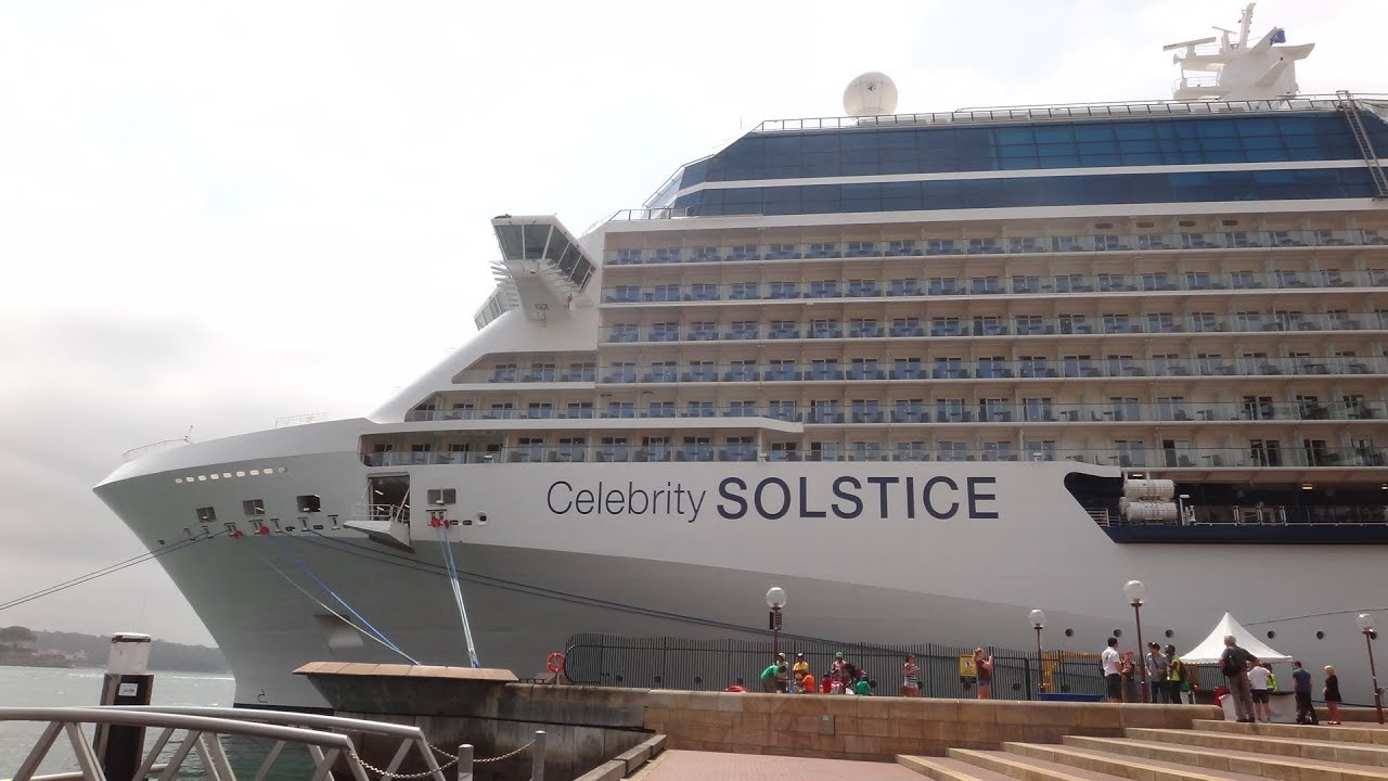 Celebrity Solstice - great video of what's onboard (March ...