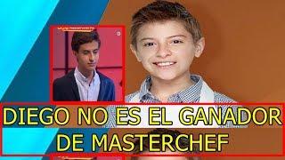 Polémica DESCUBREN que DIEGO NO es VERDADERO GANADOR de MasterChef Junior México 2017
