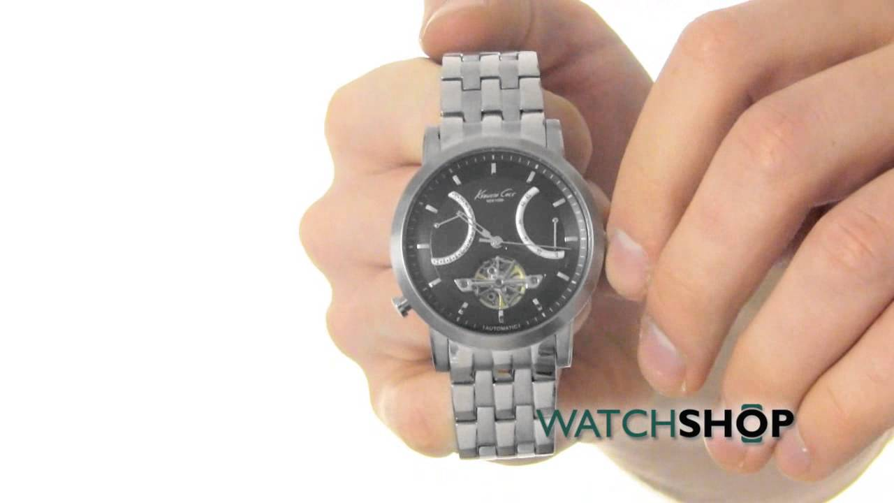 Kenneth Cole Men s Automatic Watch (KC9318) - YouTube c0dafe8a65