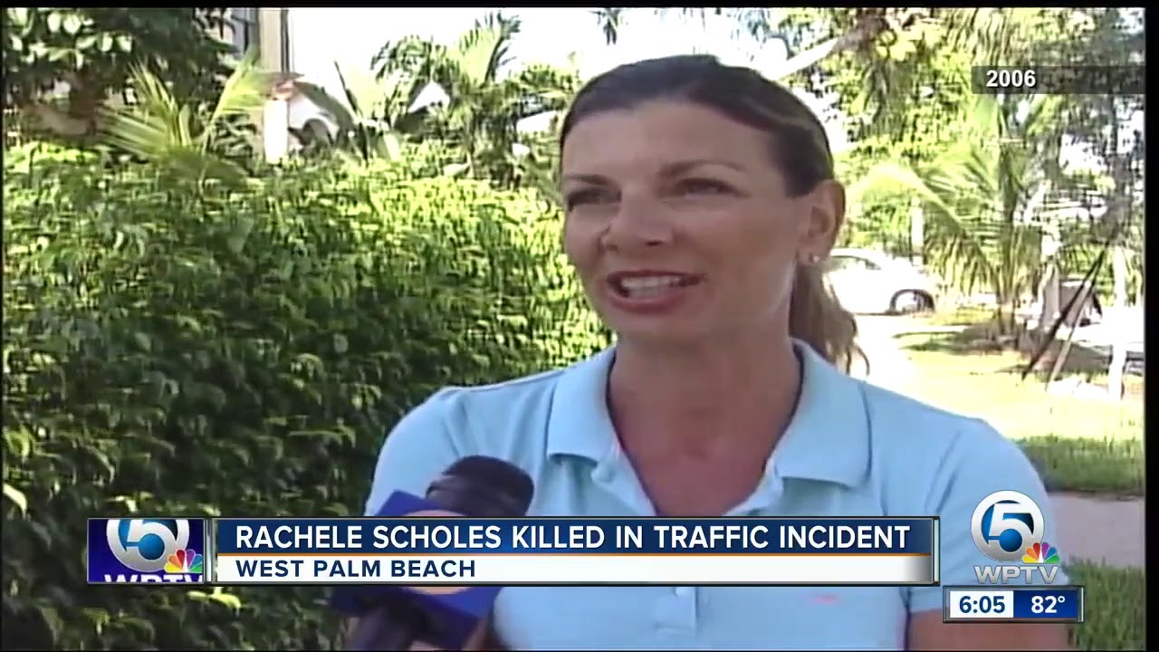 Former WPTV reporter Rachele Scholes dies after West Palm Beach motorcycle  crash