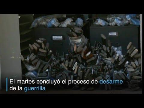 FARC finalizaron desarme en Colombia