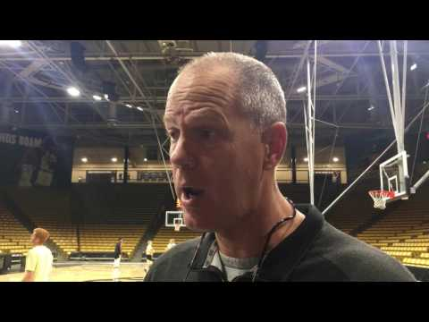 Tad Boyle 10/12 Post Practice Interview