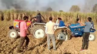 EICHER VS FARMTRAC Tractor Tochan Tournament Pind Live