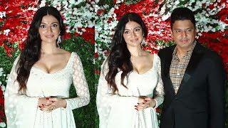 Bollywood Mogul Bhushan Kumar with GORGEOUS Wife Divya Khosla attend Jayantilal Gada's Son Wedding