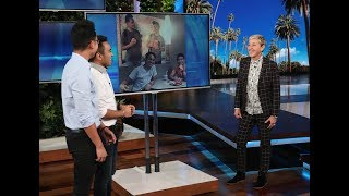 Download Ellen Has a Big Surprise for Viral McDonald's Pranksters Mp3 and Videos