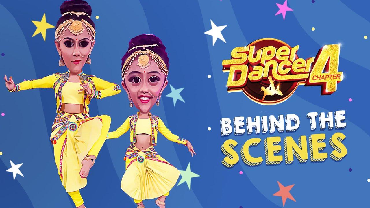 Super Dancer 4 - Behind The Scenes - Pratiti & Swetha - #Pratha - सुपर डांसर 4 - Anshika, Esha