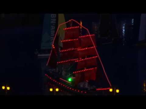 Торжественное появление корабля под алыми парусами