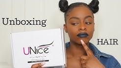 Unboxing UNice hair- Peruvian straight  | ANTIGORGEOUS