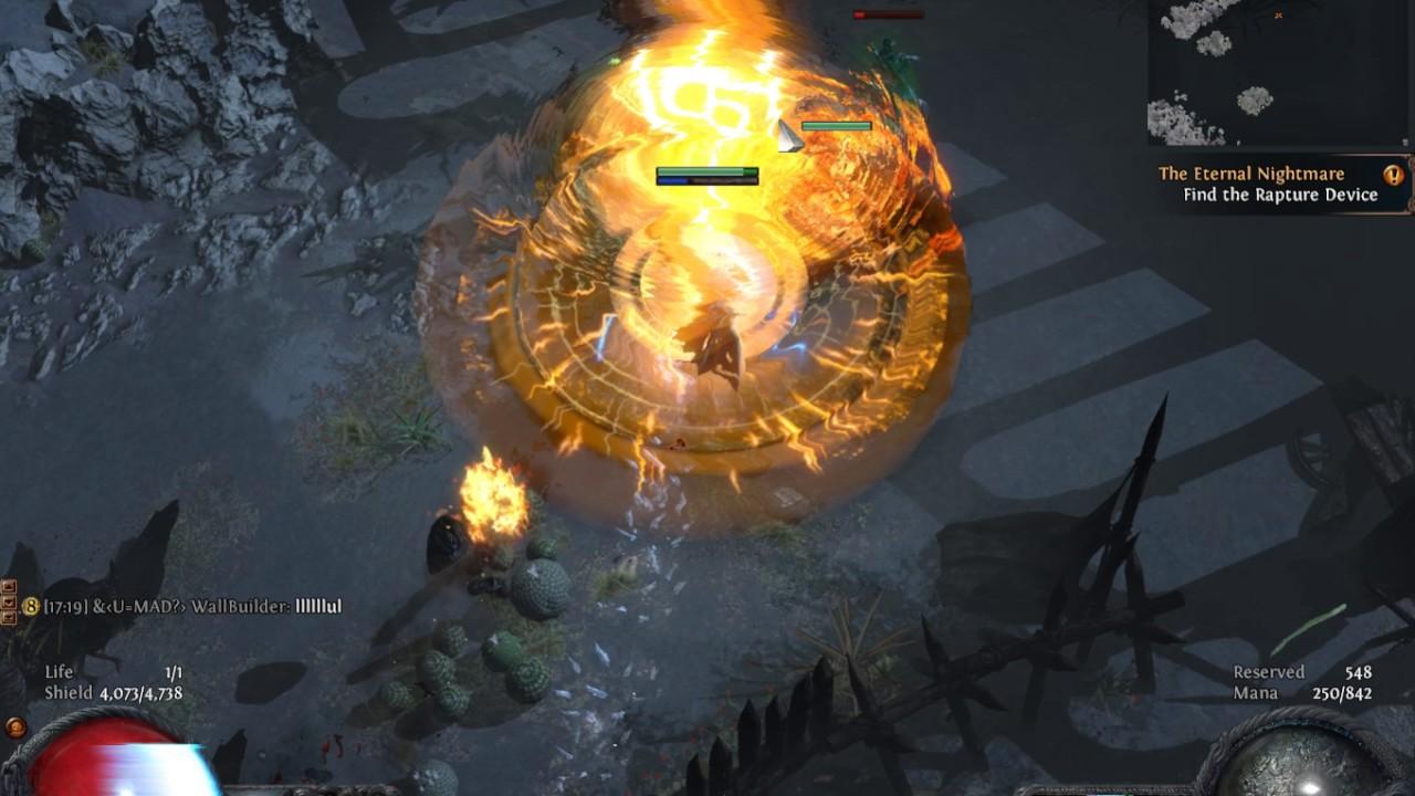 Path Of Exile  [lsc] 26 Saboteur Ek Nova Cluster Trapper (aka The  Pipebomber)