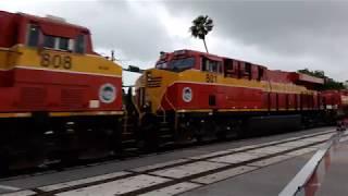 Florida East Coast FEC Railway Train Boca Raton 5/27/18