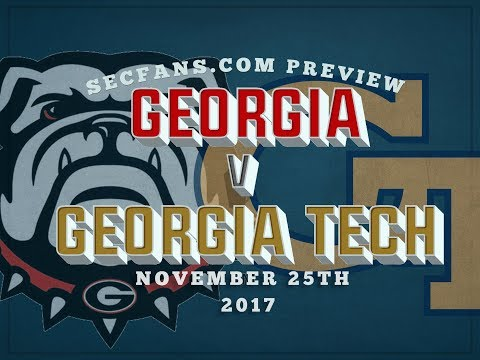 UGA vs Georgia Tech - Preview & Predictions - College Football 2017