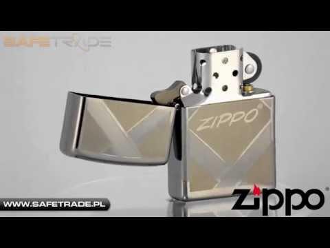 [ZIP-60] Unikat Zapalniczka Zippo Unparalleled Tradition Black Ice Logo 20969 [wwwade.pl]
