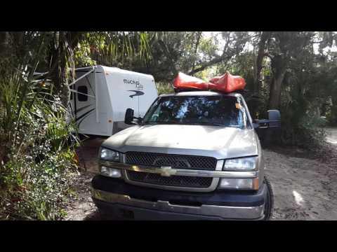 Little Talbot Island State Park Campground site 33