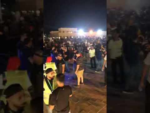 مشاهير القطيف في مهرجان وسط العواميه
