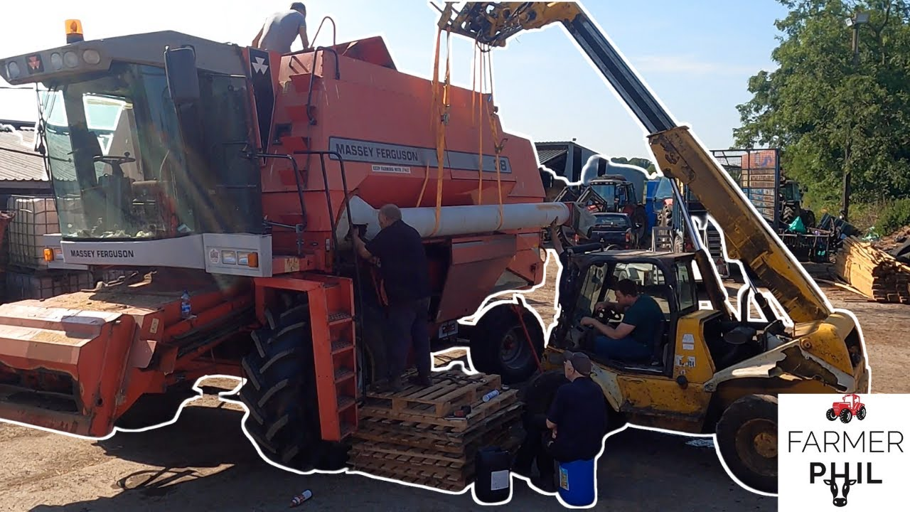 REPLACING TWISTED AUGER - FINAL PREPARATIONS FOR HARVEST 2021