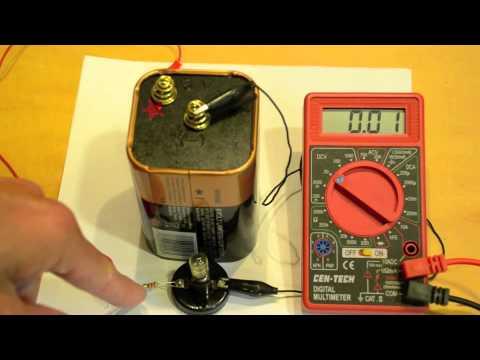 Measuring Voltage with a Digital Multimeter