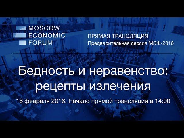 Запись прямой трансляции с секции МЭФ 16.02.2016г.