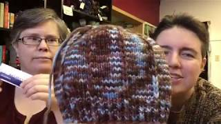 Faking Sanity Knitting & Spinning Podcast Episode 8: Feeling Very Grateful and a Little Crazy