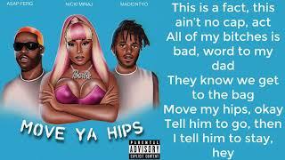 Gambar cover Nicki Minaj - Move Ya Hips Verse [Lyric Video]