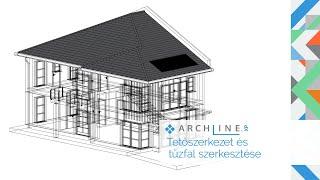 Építészeti BIM Tanfolyam 3. Rész: Tetőszerkezet és tűzfal szerkesztése