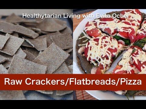 Raw Herb Crackers/Flatbread/Pizza Crust: Nutrition, Recipe & Tips