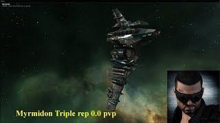Myrmidon 0.0 Solo PVP - Eve online