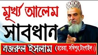 New bangla waz By Sayed Nazrul Islam. সৈয়দ নজরুল ইসলামের