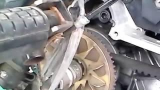 Cara Buka Baut Rumah Roller Honda Vario Paling Mudah DAn Simpel
