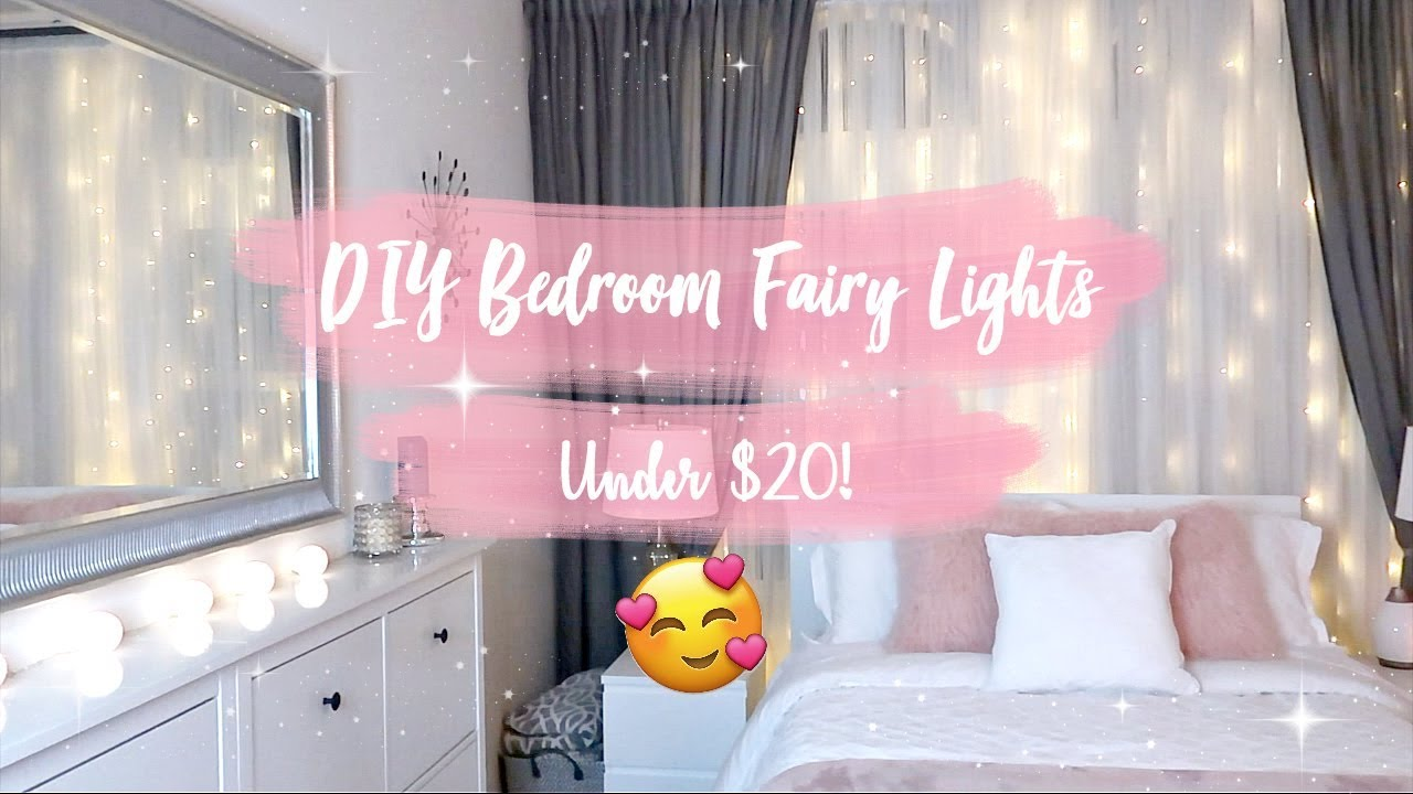 ☆ DIY Bedroom Fairy Lights ☆
