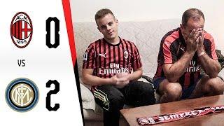 BEFFATI... - MILAN 0-2 INTER | LIVE REACTION GOL HD MILANISTI