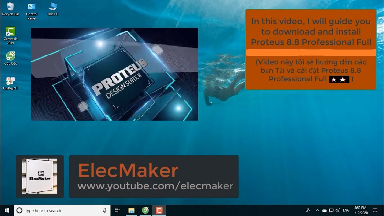 Download And Install Proteus 8.8 Pro Full | Tải Và Cài Đặt Proteus 8.8 Pro Full