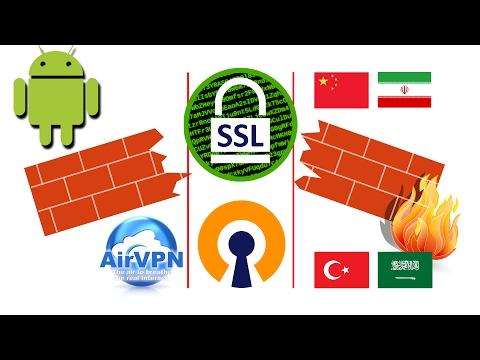 [Android] Mit OpenVPN & SSL Durch Die Chinesische Firewall (AirVPN)