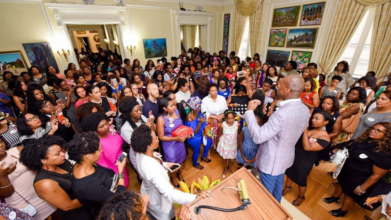 "400 HAITIAN Women ""Haitian Ladies Brunch"" at DC Embassy of ..."