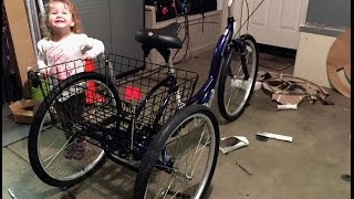 The Grocery Getter - Electric Tricycle Project 48v LiFePO4 Part1
