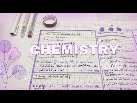 Chemistry – Mẹo học môn Hoá hiệu quả