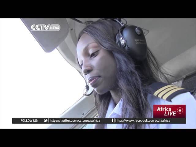 Zambia's youngest pilot in the world.