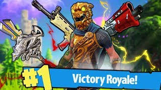 A NEW REAL VITTORY ON FORTNITE!!