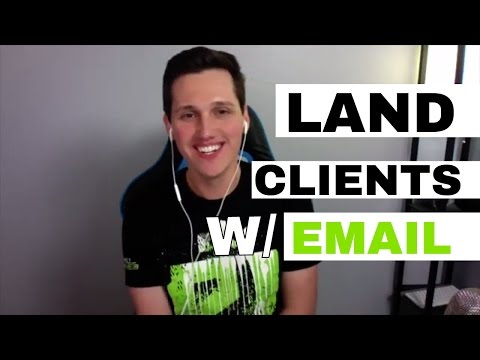 Use COLD EMAIL To Land Clients