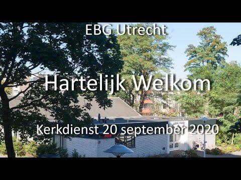 EBG- Utrecht Dienst 20 september 2020