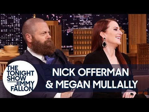 Megan Mullally Cheers on Nick Offerman's Dance Troupe Moves