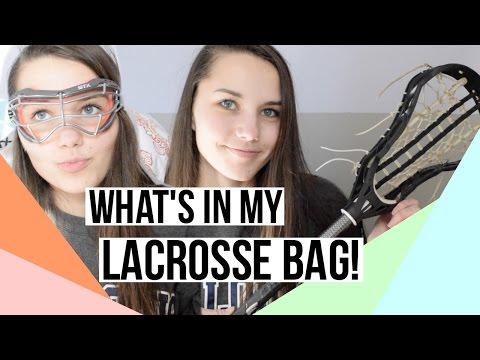 WHAT'S IN MY LACROSSE BAG 2017! // UPDATED LACROSSE ESSENTIALS